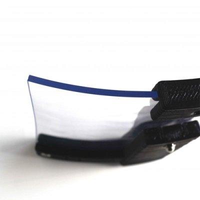 画像1: 飛散防止カバー ダントツカバー スモークグレー