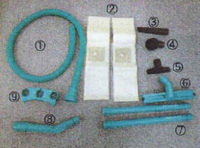 画像1: HEPA対応 真空掃除機 バックマン サニーヘパ /蔵王産業